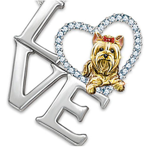 Yorkshire terrier jewelry jewellery this best in show yorkshire terrier pendant best in show yorkshire terrier aloadofball Choice Image