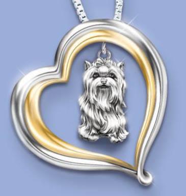 Yorkshire terrier jewelry jewellery yorkshire terrier pendant aloadofball Gallery
