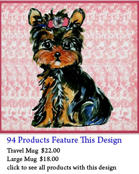 Yorkie Gifts for Yorkie lovers. Yorkie Mom design, Yorkshire Terrier Biker, Yorkie Property Rules, I suffer from Muliple Yorkie Syndrome (cause one Yoerkie ...
